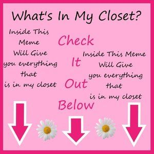 What's In My Closet ?